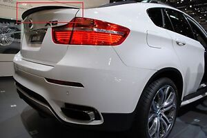 BMW-X6-E71-E72-08-14-REAR-BOOT-TRUNK-SPOILER-PERFORMANCE-LOOK-NEW-TAILGATE