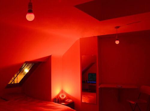 12x 5W LED R63 Coloured Reflector Disco Spot Light Bulb ES E27 Screw Lamp 85-265