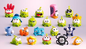 Om Nom Toy Figure Cut The Rope Collection Mini Figures Pvc Ebay