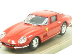 Caja-Modelo-Diecast-8416-Ferrari-275-GTB-4-Route-un-Raggi-Rojo-1-43-ESCALA-en-Caja