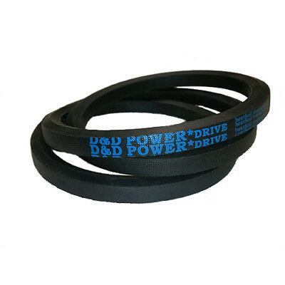 D/&D PowerDrive A155 V Belt  1//2 x 157in  Vbelt