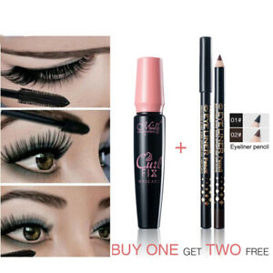 3pcs-set-Menow-Waterproof-Mascara-Volume-Express-3D-Makeup-With-Eye-Liner-Pencil