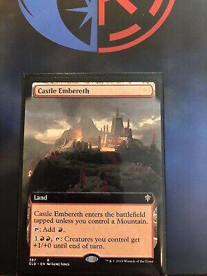 x1 Castle Embereth MTG Throne of Eldraine R NM English ELD MTG