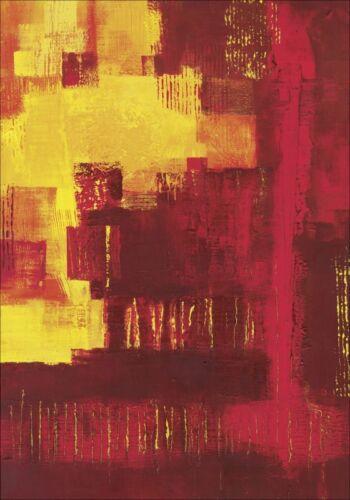 Wandbilder selbstklebend K Frolova Abstrakte Motive Malerei Rot B9LG