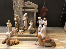 Demdaco Willow Tree 6 piece Nativity set #26005 New sealed box
