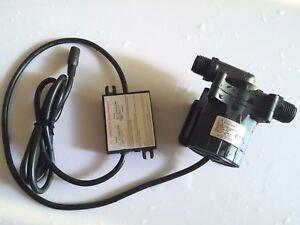 Speed adjustable 5-24V DC Mini Water pump Auto Circulation Pump 2400LPH 8M 86.4W