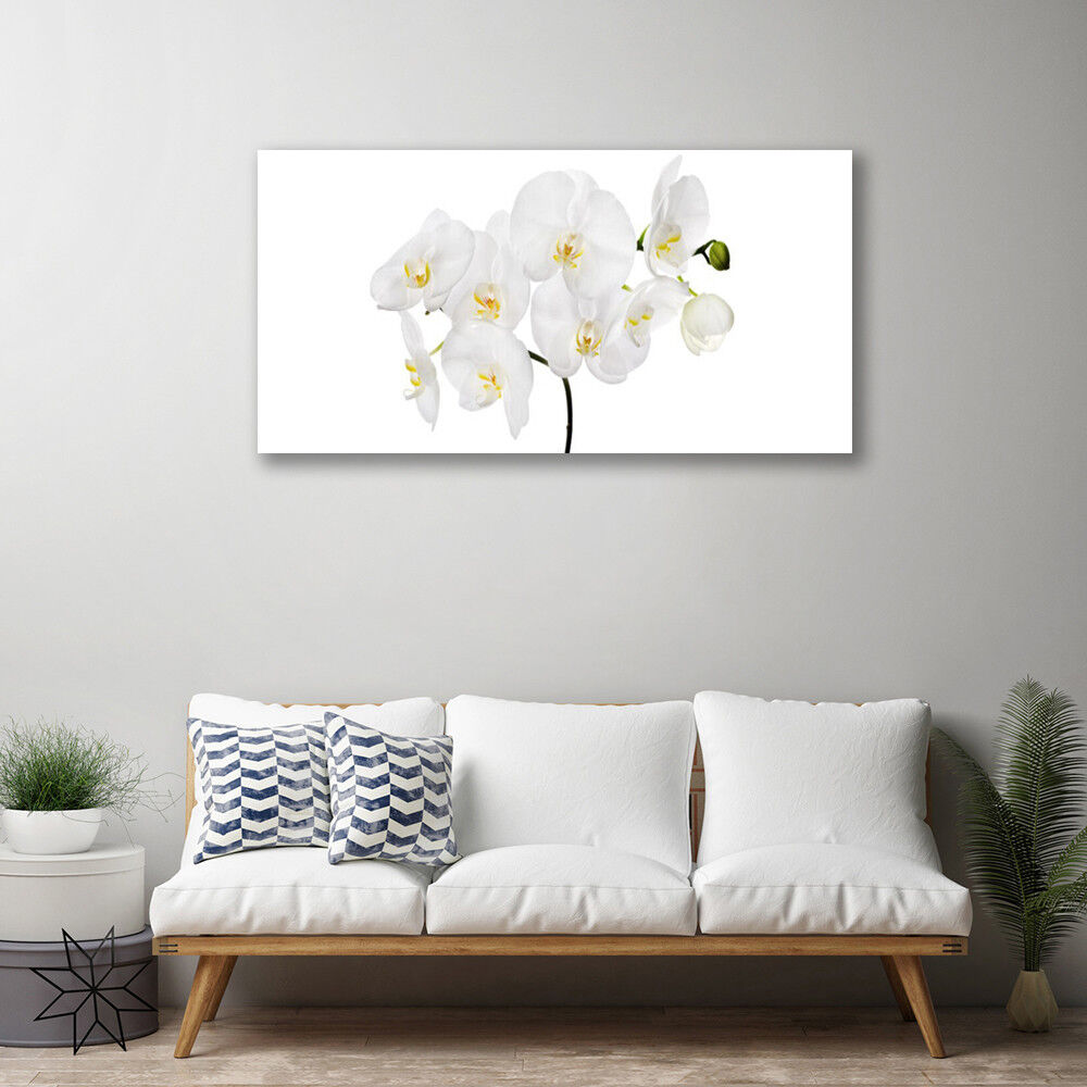 Canvas print Wall Wall Wall art on 100x50 Image Picture Flowers Floral 23b8ae