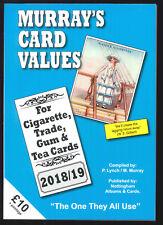 Murray Cigarette Card Values - 2018/19 Cigarette & Trade Card Catalogue