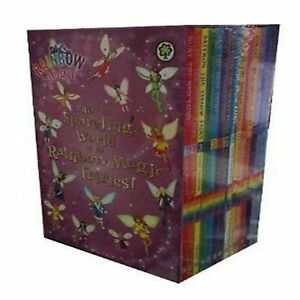 Rainbow-Magic-Box-Set-Collection-1-14-Books-Rainbow-Fairies-and-Weather-Fairies