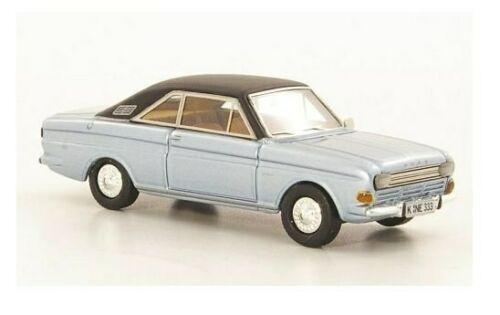 silver-blue//black Ford Taunus P6 15M Coupe NEO 1:87-87333