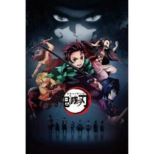 Anime-Demon-Slayer-Kimetsu-no-Yaiba-Kamado-Tanjirou-Kamado-Nezuko-Poster-Czx