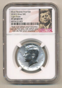 2018-S-NGC-PF69-LIGHT-FINISH-Reverse-SILVER-PROOF-Kennedy-Half-dollar-from-set