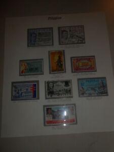 Francobolli-stamps-PILIPINAS-pagkolekta-ng-mga-selyo-FILATELIA