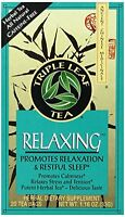 Triple Leaf Tea, Tea Bags, Relaxing, 1.16-oz Bags, 20-count Boxes (pack Of 6),