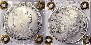 Süß GehäRtet 12 Tari 1799 Ferdinand Iii Vereinigte Von Sizilien Bb Vf #p276 Stabile Konstruktion