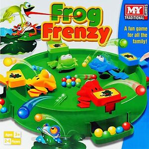 Frog-Frenzy-BOARD-GAME-CHILDREN-KIDS-TOY-GAME-GIFT-CHRISTMAS-Hungry-Frogs-Hippos