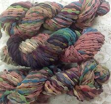 Hand dyed yarn nylon  bubble 60 yds Great Adirondack trim fall minerals