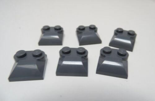 NEW Lego Bluish Gray 2x2x2//3 MODIFIED BRICK Top Studs Curved Slop Race Car Truck