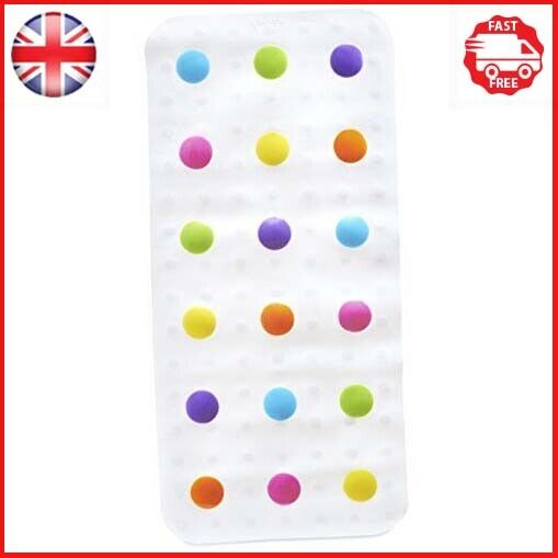 Munchkin Dandy Dots Children's Non Slip Safety Bath Mat, Multi Color