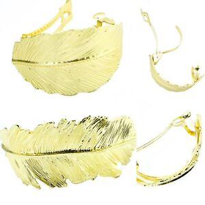 Magasiner Pour Pas Cher New Gold Cheveux Barrette Clips Français Pince Cheveux Diapositive Vintage Motif Feuille Tendance Uk-afficher Le Titre D'origine
