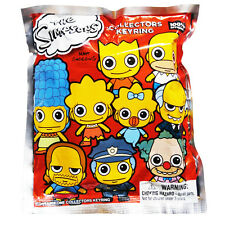 Simpsons Series 1 Blind Bag Figure Keychain NEW Toys Keyring Homer Bart Krust