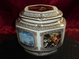 WADE-Admiral-Nelson-Battle-of-Trafalgar-Maritime-Museum-Lidded-Ceramic-Pot