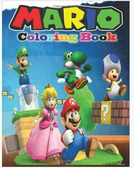 Mario And Friends Coloring Book Ser Mario Coloring Book Coloring Book Containing All Super Mario Characters By Magical Creative 2017 Trade Paperback For Sale Online Ebay