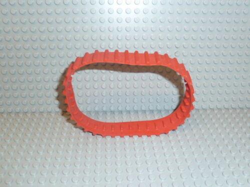 Lego ® Technic 1x Caoutchouc Chaîne Rouge chars Chenille Excavateurs x1681 70504 70144 70501 #180