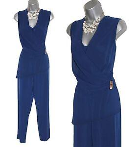 senza 99 Phase Odelle Cobalt Jersey Blue maniche £ Eu38 Uk10 Eight Overlay Tuta RqFn0BT
