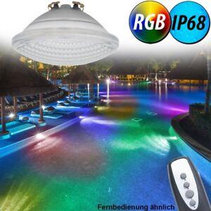 Ampoule de piscine rgb led 8 w 800 lm projecteur de par56 telecommande eek a ebay - Ampoule led piscine telecommande ...