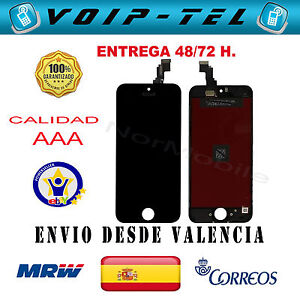 PANTALLA-COMPLETA-IPHONE-5C-CALIDAD-AAA-A-LCD-DISPLAY-TACTIL-NEGRO-NEGRA