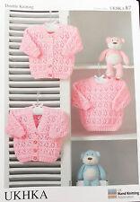 Baby Knitting Pattern DK   -   UKHKA 87