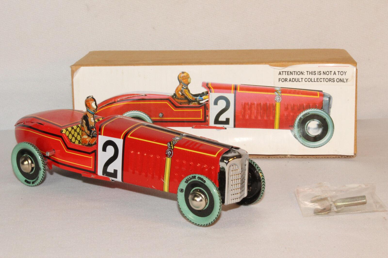 Paya Tin Windup Race bil, lådaad