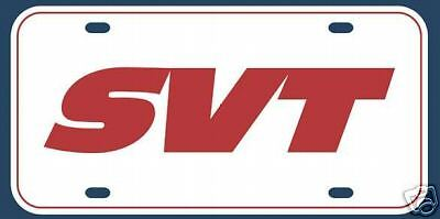 FORD RACING EMBLEM BADGE MUSTANG SVT COBRA F150 FOCUS LIGHTNING PLATE 2x3 ALUM