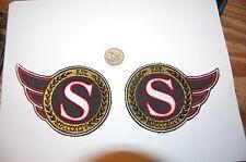"""Ottawa Senators 5"""" Patch Left & Right 92/93-06/07 Alternate Logo  Hockey"""