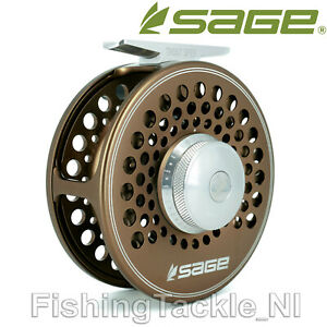 Sage-Trout-Spey-Classic-Style-Fly-Fishing-Reel-Bronze-SCS-Drag-Size-3-4-5