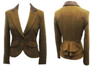1920s 30s 40s Style Bustle Victorian Heritage Downton Tweed Riding Jacket