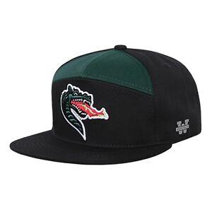 University-of-Alabama-UAB-Birmingham-Blazers-Flat-Bill-Snapback-Baseball-Cap-Hat