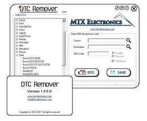 DTC REMOVER 1.8.5.0 2017 FULL+Unlimited Key