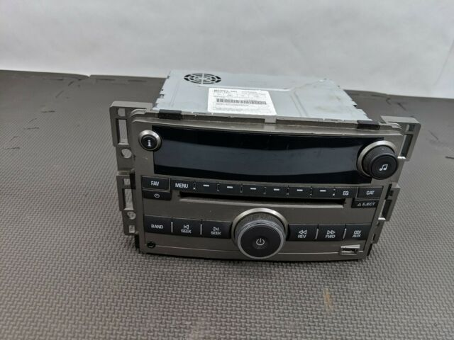 0912 Chevrolet Malibu Radio Cd Mp3 Player Usb Aux Ports 20940842 Rhebay: 2011 Chevy Malibu Factory Radio At Gmaili.net