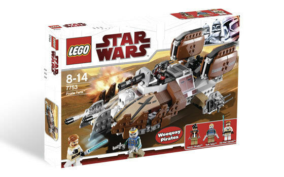 *BRAND NEW* Lego Star Wars Pirate Tank 7753