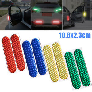 Safety Mark Reflective Strips Car Door Sticker Warning Tape Decal Accessory