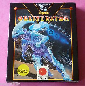 Sinclair-ZX-Spectrum-Psygnosis-OBLITERATOR-w-Booklet-1989-NEW