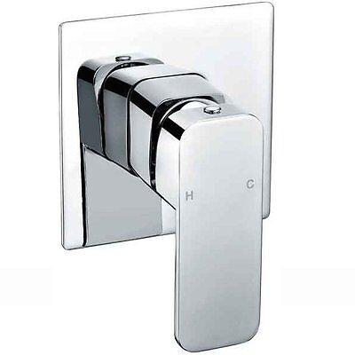 Curva New Design Wall Bath Shower Mixer - Chrome/ Brass, Wels Approved, 5 Star
