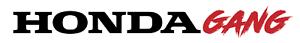 HONDA GANG ENTHUSIAST JDM CAR DECAL DIE-CUT 24IN