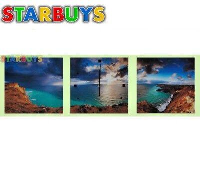 Accurato Stampe Su Tela Parete Arte Foto Stampa Su Tela Orologio Da Parete 2xaa Shore Cove & Ocean-