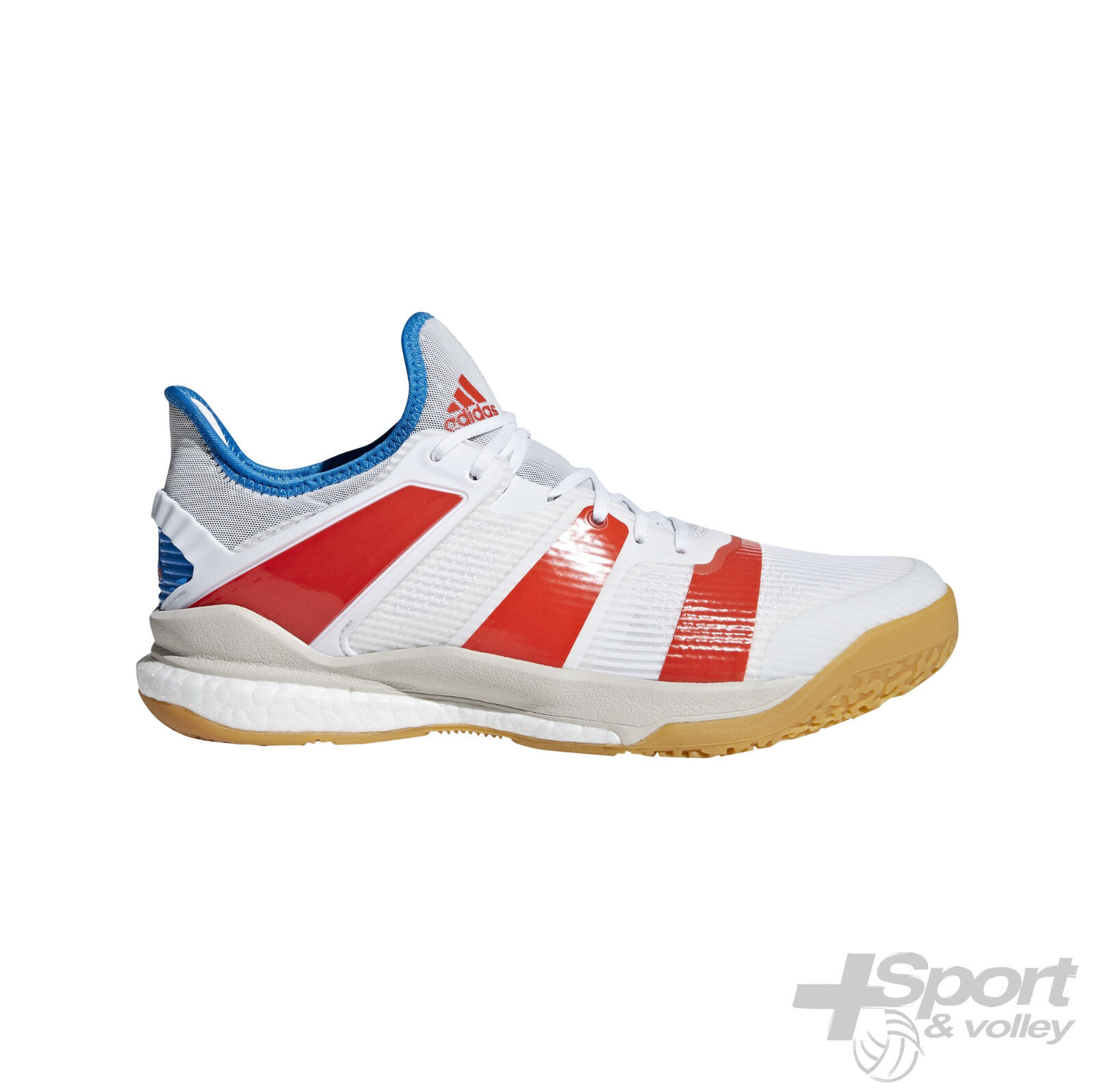 Chaussure volleyball Adidas Stabil X X X Low Man - B22571 NOVELTY 2018  890a3a