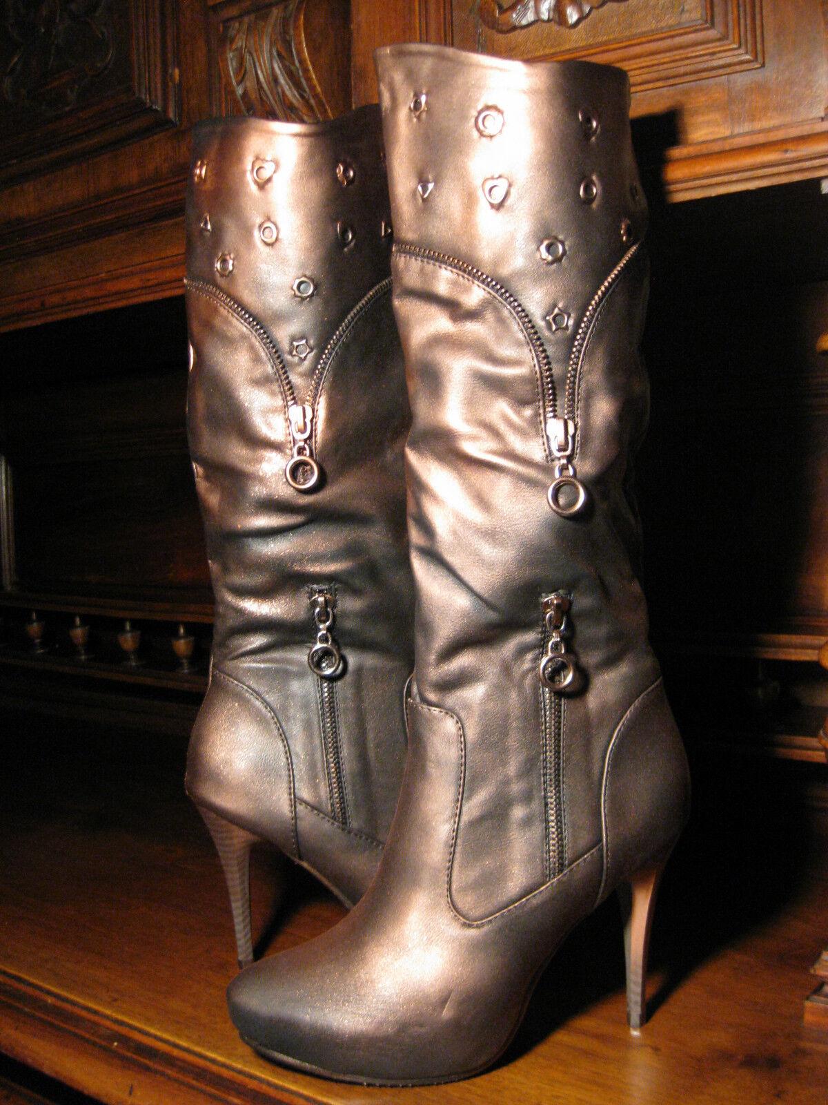 Steampunk gothic Victorian Stiefel renaissance Stiefel vintage LARP Stiefel Victorian Stiefeletten fda9de