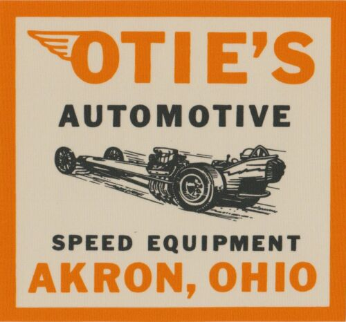 1964 Otie/'s Automotive large decal