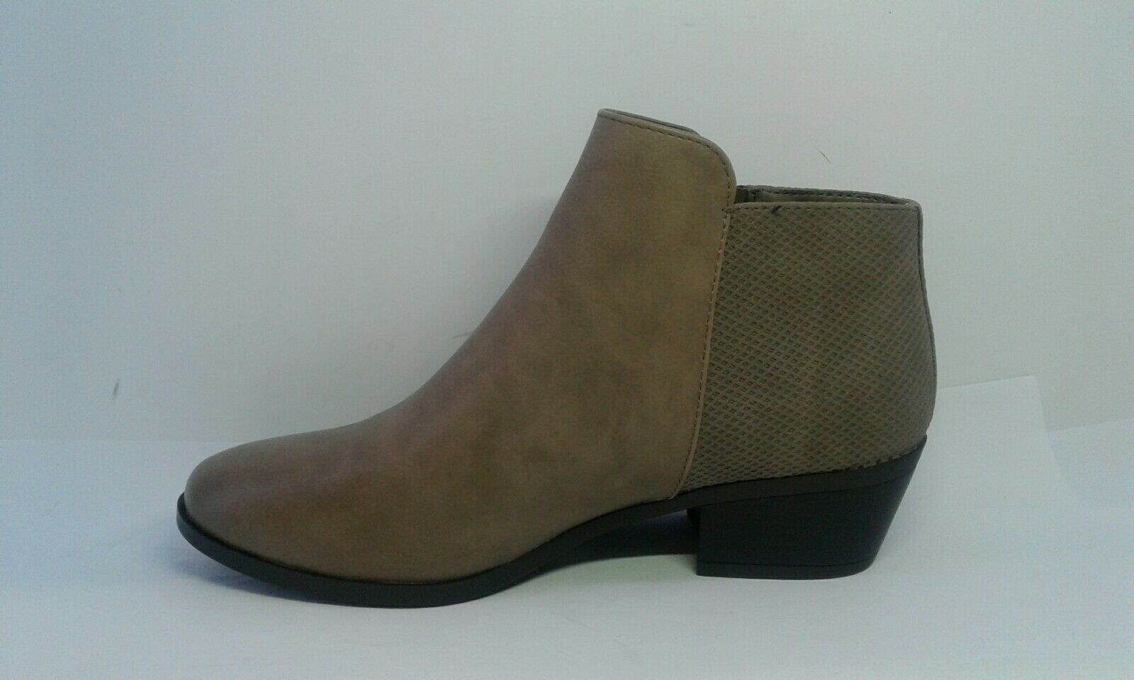 Call It Spring Cis Gunson Zip Detail Ankle Boots Taupe Women's Size